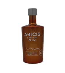 AMICIS GIN, Smoth & Dry, 14 selected hill botanicals